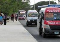 Combis no es solución de movilidad para Cancún, todo lo contrario.