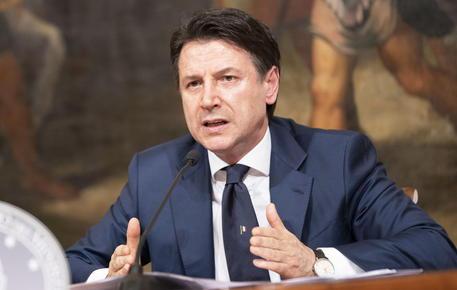 Italian PM Conte press conference