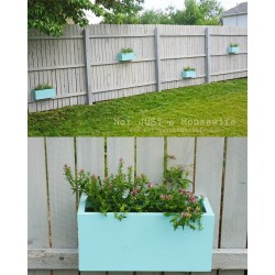 Adorable Planter Boxes On Fence Planter Boxes On Stacy Risenmay Backyard Garden Planter Box