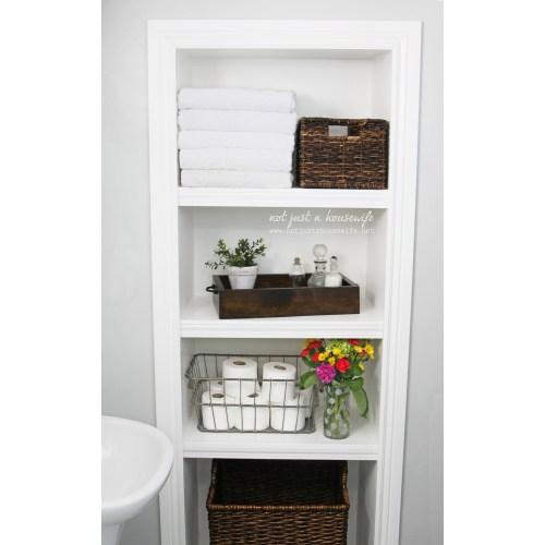 Medium Crop Of Bathroom Shelf Wall
