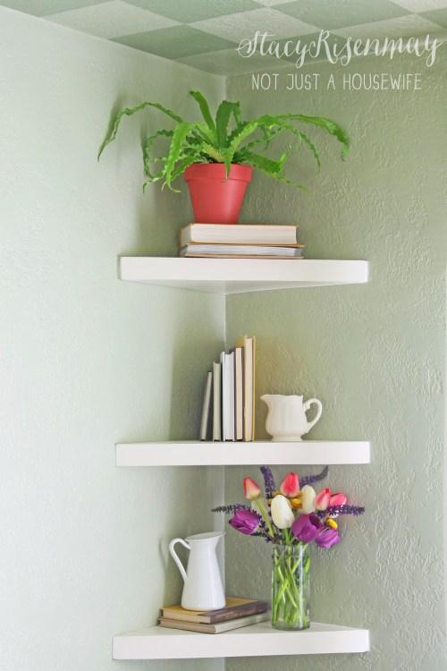 Medium Of Square Floating Shelves