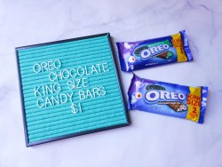Small Of Oreo Chocolate Candy Bar