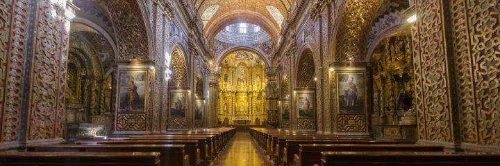 La Compania de Jesus, Quito, view towards altar