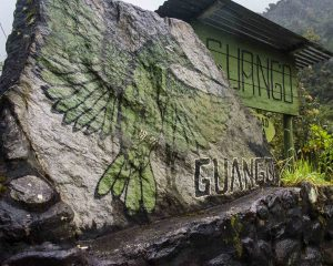 Guango Lodge Sign