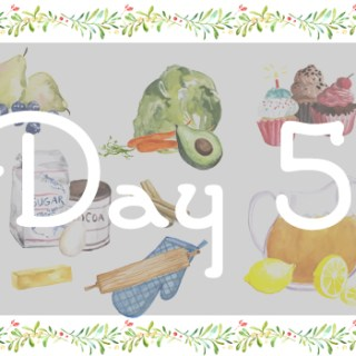 12 Days of Holistic Holidays: Day 5.