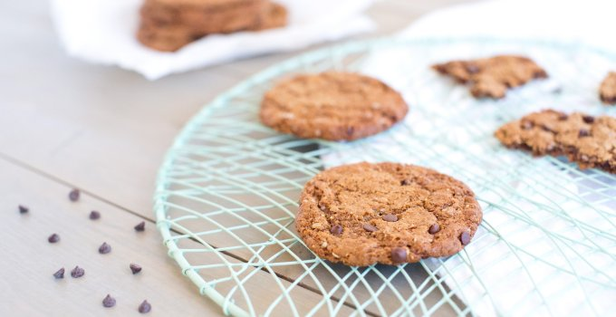 Chewy Oatmeal Chocolate Chip Cookies.