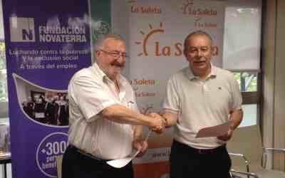 Fundación Novaterra y Geroresidencias (La Saleta) aliadas por la inclusión social