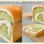 Marbled Matcha & Refried Bean Swirl Bread