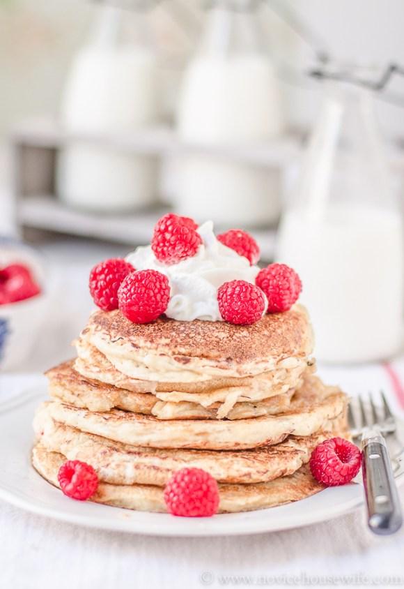 fluffy pancakes-5
