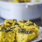 Garam Masala Tuesdays: Gluten Free Microwave Dhokla