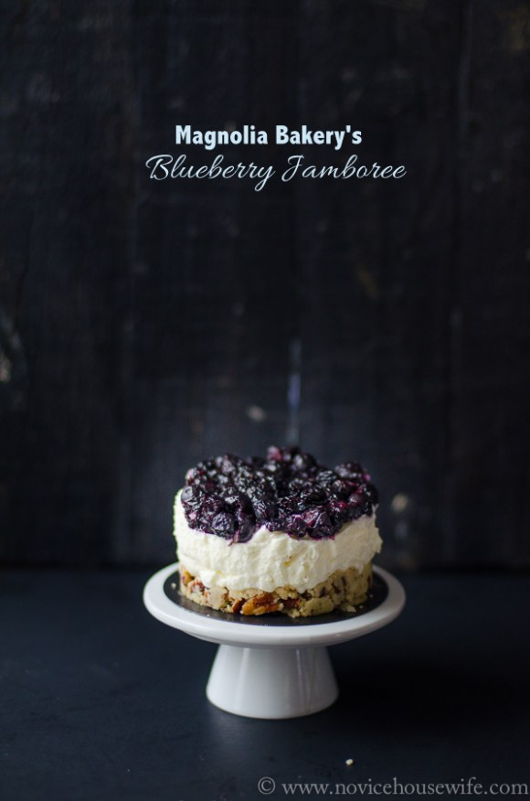 Magnolia Bakery's Blueberry Jamboree | The Novice Housewife