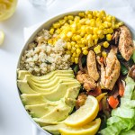 Chicken Fajita Quinoa Bowl