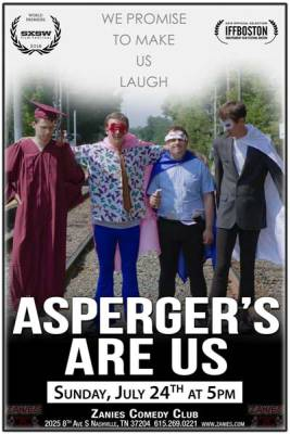 Things to do in Nashville | Asperger's Are Us at Zanies