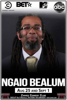 Things to do in Nashville | Ngaio Bealum at Zanies