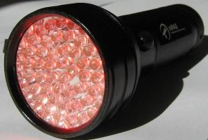 Large Red LED Torch