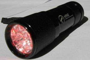 Small Red LED Torch