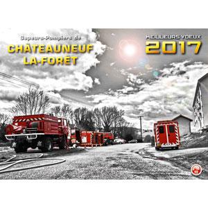 calendrier des sapeurs-pompiers de chateauneuf npc-calendrier.fr-1