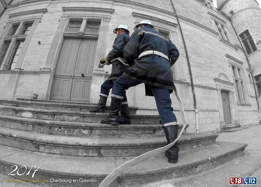 calendrier des sapeurs-pompiers de cherbourg-2017-5, npc-calendrier.fr