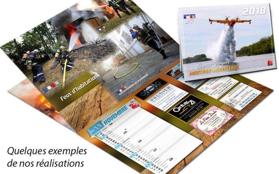 calendrier-pub2-2018-2, npc-calendrier.fr, calendrier des sapeurs-pompiers, personnalisés, personnalisables, 2018