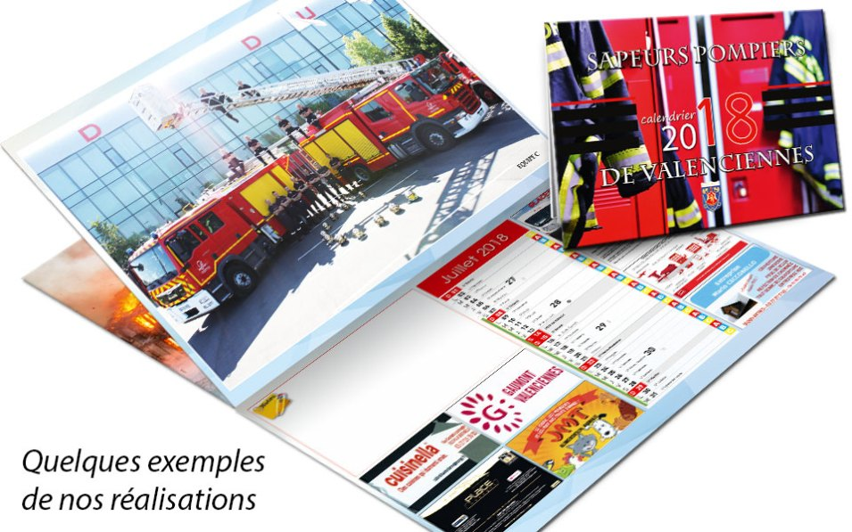 calendrier-pub-2018-2, npc-calendrier.fr, calendrier des sapeurs-pompiers, personnalisés, personnalisables, 2018