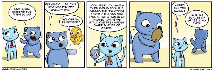 Chloe has a seemingly sound explanation, but I still say cats are aliens.