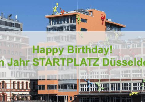 1 Jahr STARTPLATZ Düsseldorf