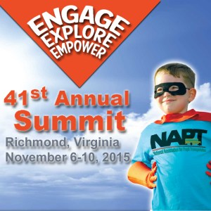 Open registration for NAPT summit @ Richmond, Virginia