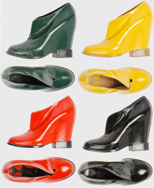 Chloe fall 2007 wege shoes