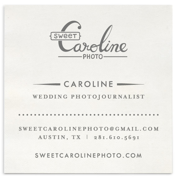 sweet caroline photo graphic design