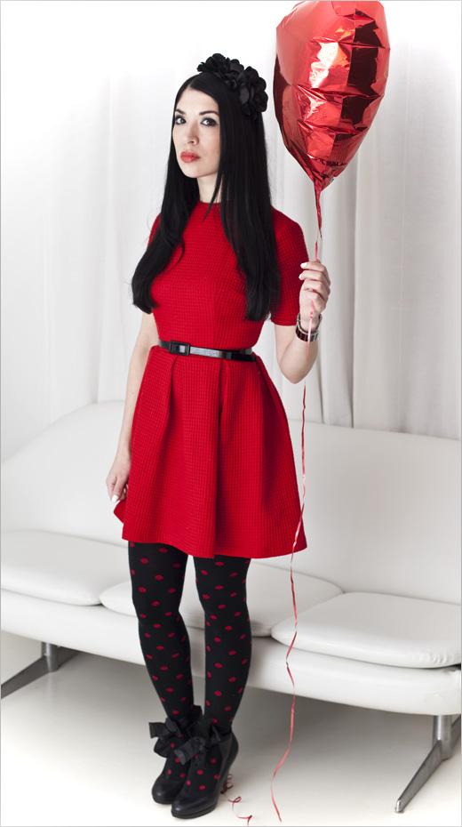 what i wore valentine nubby twiglet