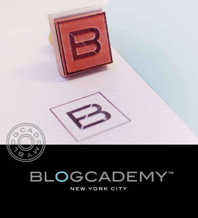 The Blogcademy Rubber Stamps