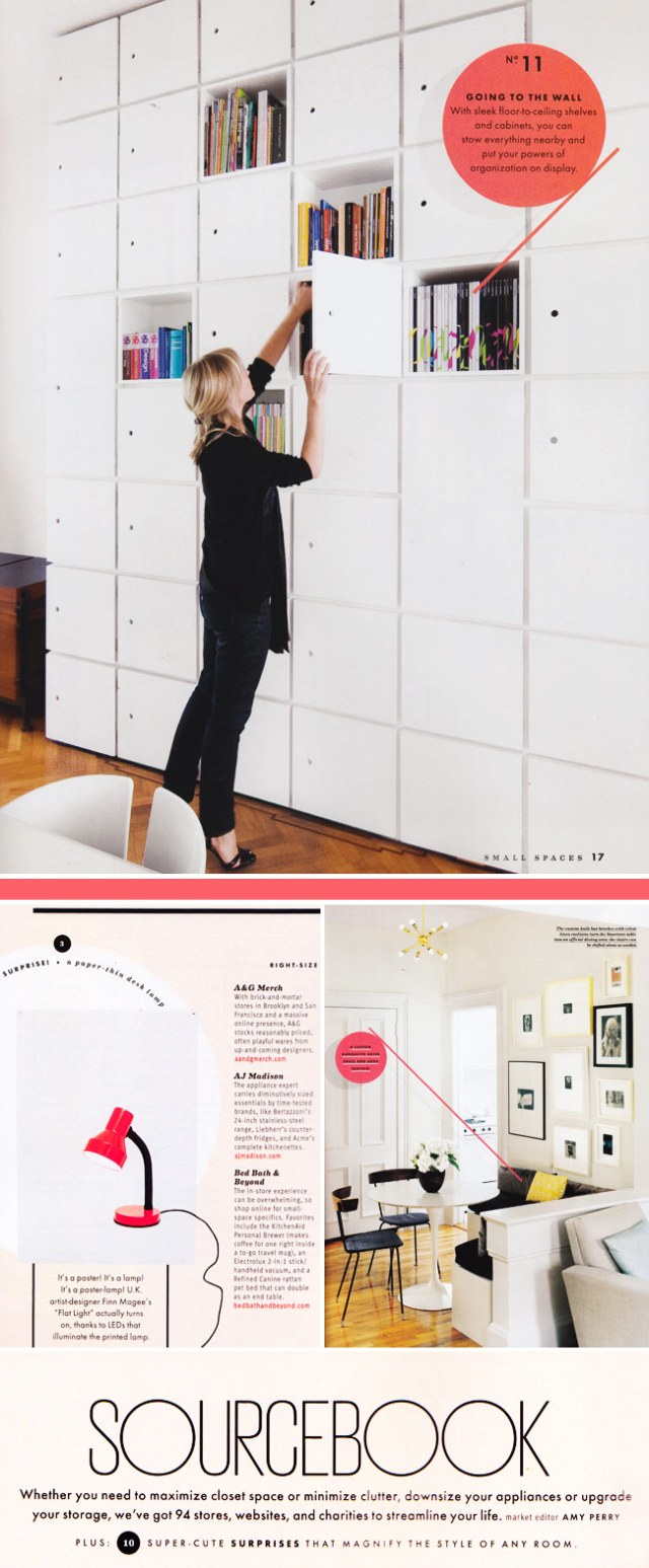 Domino Magazine Small Spaces