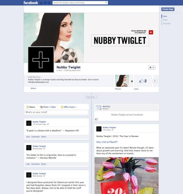Nubby Twiglet Facebook
