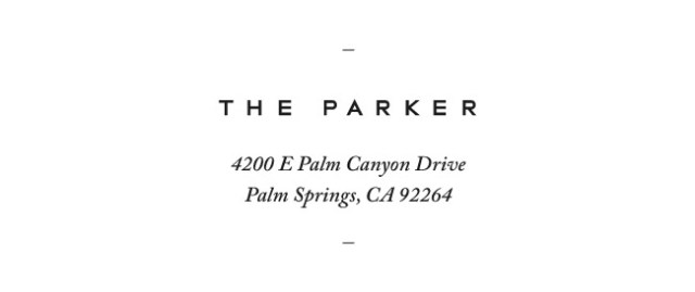 Nubby Twiglet | The Parker Palm Springs