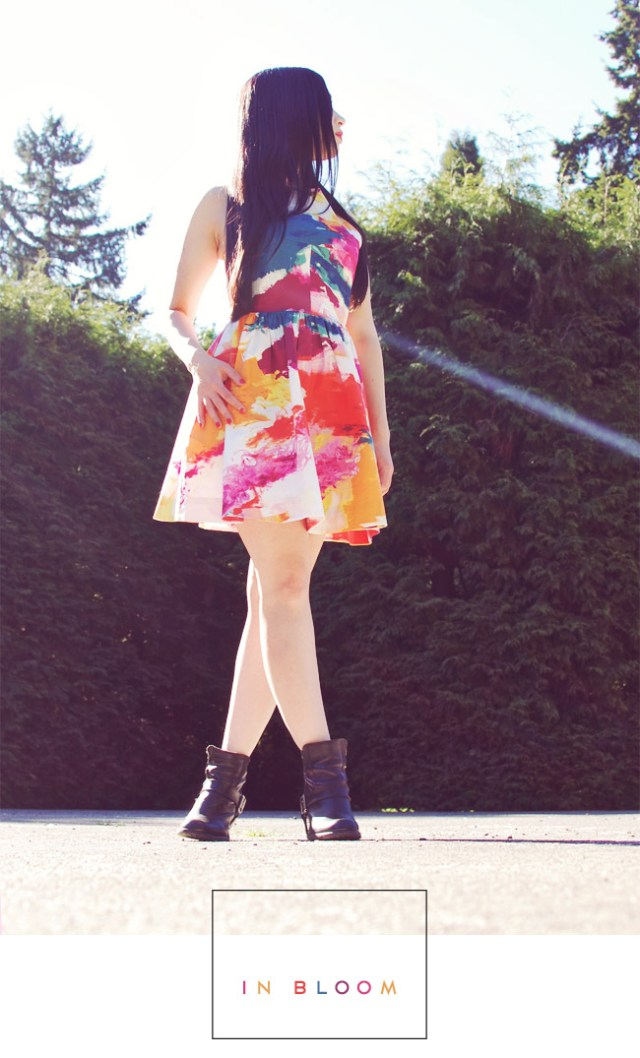 What I Wore: In Bloom
