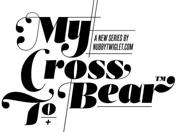 my cross to bear art