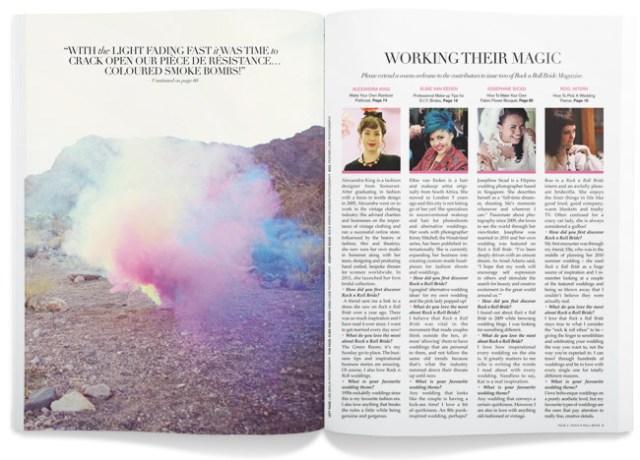 Rock n Roll Bride Magazine Issue 2
