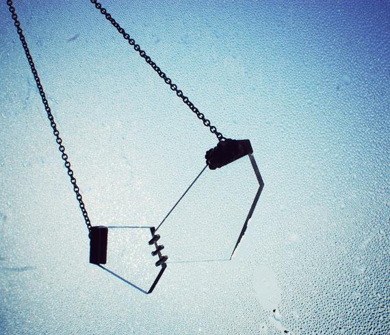 drown fragments landslide necklace