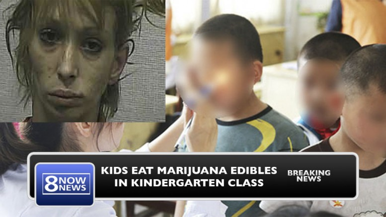 6 Year Old Gets Entire Class 'High' After Bringing Mom's Marijuana Edibles To School