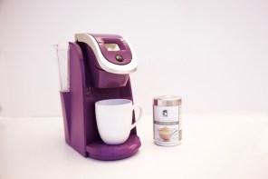 Keurig My K-cup & Terra Coffee Eco-Friendly & Sustainable Café