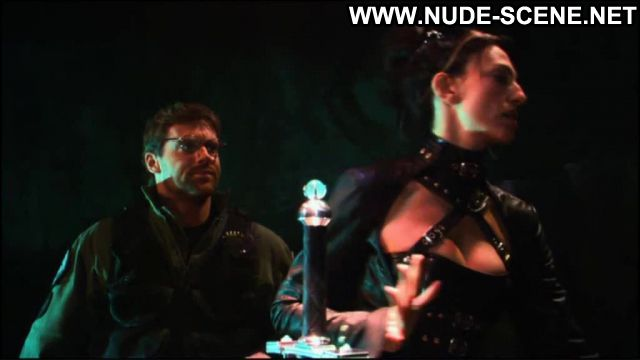 Claudia Black No Source Black Nude Scene Posing Hot Sexy