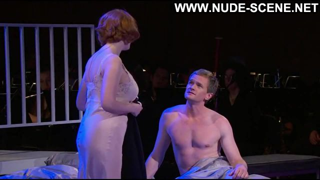Christina Hendricks Nude Sexy Scene Company Redhead Lingerie