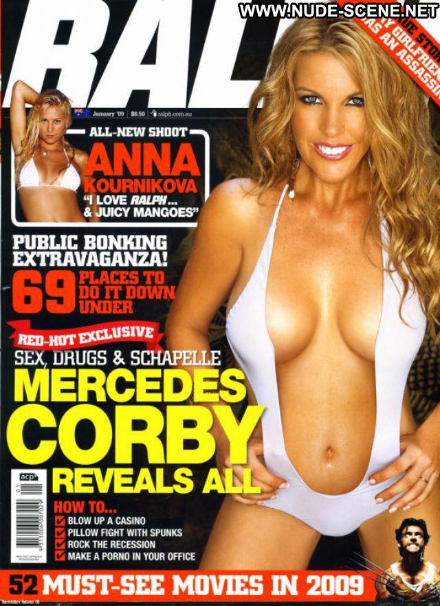 Mercedes Corby Nude Sexy Scene Bikini Showing Tits Blonde