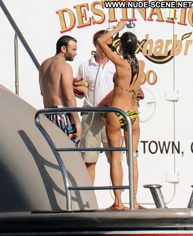 Alessandra Ambrosio Nude Sexy Scene Yacht Brazilian Latina