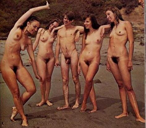 retro nude contest