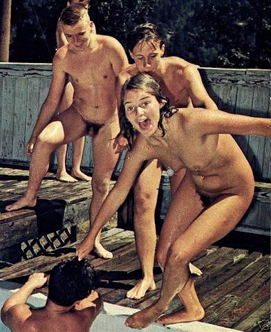 nudist beach fun