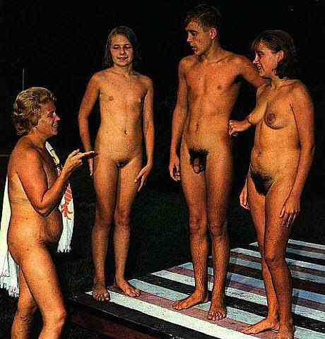 me and my sister naked