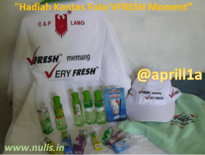 VFRESH Moment Real Fresh Gift