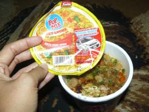 Pop Mie Rasa Kari Ayam