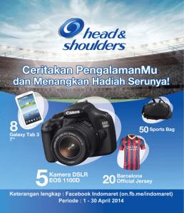 Promo Head N Shoulders